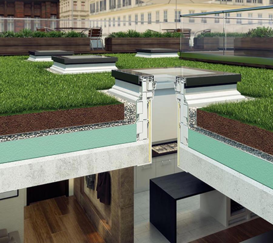 Fakro finestre per tetti piani tipo f gpm materiali edili for Finestre fakro