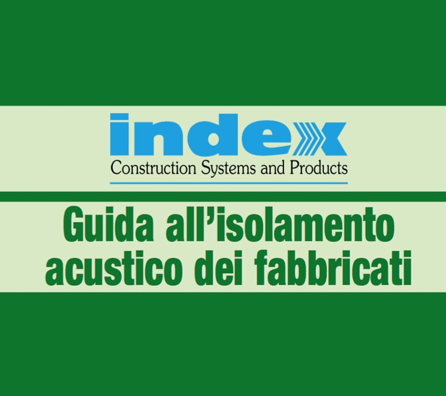 INDEX GUIDA ISOLAMENTO ACUSTICO
