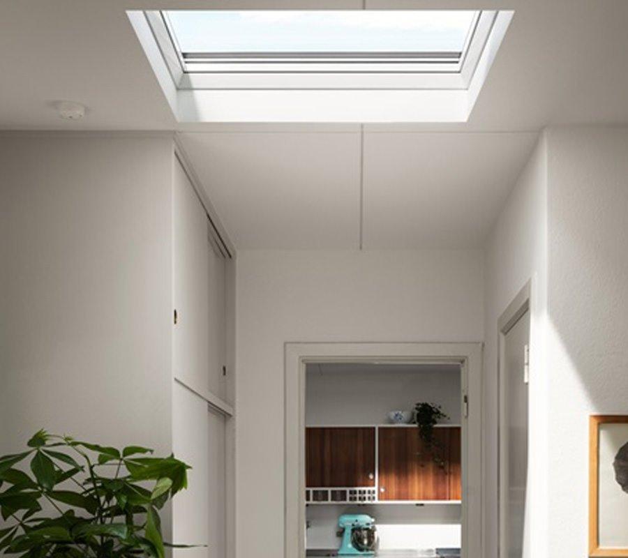 velux finestre per tetti piani con vetro curvo gpm
